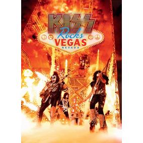 Kiss Rocks Vegas 2016 - Dvd+cd Produto Americano No Brasil