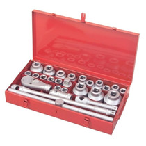 Tekton 26-pc. 3/4 And 1 Drive Jumbo Socket Set Importado