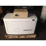 Generador, Planta Eléctrica Generac 8kw A Gas Poco Uso