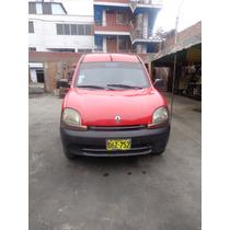 Renault Kangoo 2002 Diesel Color Rojo En Venta
