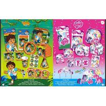 Paquete De Platos, Vasos Y Más Para Fiestas Infantil