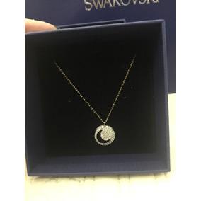 Swarovski Collar Crystal Wishes Moon Una Pieza Solamente