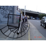 Escalera Caracol O Recta 3x0.60 Metal Desplegado Ciudadela