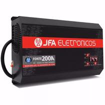 Fonte Automotiva Jfa 200a 3000w Bivolt Automático Carro Som