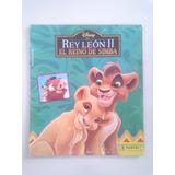 Album Figuritas Disney - El Rey Leon 2 Panini Casi Completo