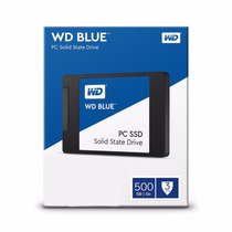 Hd Ssd Western Digital Blue 500gb Sata 3 - 545/525mbps