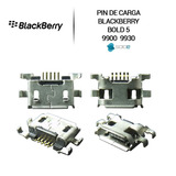Pin Puerto Carga Blackberry Bold 5 9900 9930 100% Original