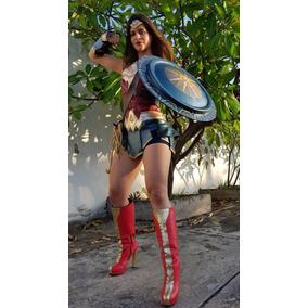 Disfraz Cosplay Mujer Maravilla - Envío Grátis