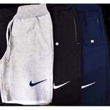 Kit 5 Bermudas Nike Moletom 100% Algodão (1)