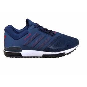 check out 6547a 749d1 Barato Adidas Originals ZX 750 Varios Zapatos del azul marino blu C805500