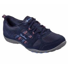 Skechers Zapatos De Espuma De Memoria Gamuza Nvy