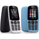 Celular Económico Barato Nokia 105 2017 Radio Linterna Mp3