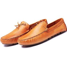 be16630759 Sapato Masculino Mocassim Drive Dockside Couro Frete Gratis