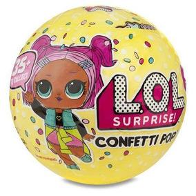 Nova Boneca Lol Surprise Confetti Pop 9 Surpresas Candide