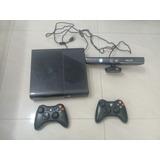Xbox 360 Elite+kinect+250gb+chip Lt 3.0