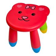 Banquinho Infantil Assento Formato De Bichinho