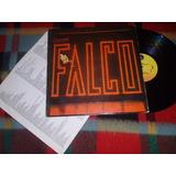 Falco Emotional Vinilo Edición Usa Con Insert