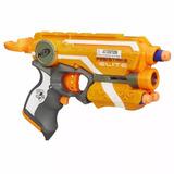 Pistola Nerf Elite Firestrike Naranja Hasbro Original