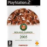 Jogo Ps2 - Roland Garros 2005 - Frete Grátis