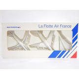 3x Miniaturas Aviões Air France 747-400 + A340 + Concorde