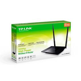 Router Tplink Tl-wr841hp Alta Potencia Antenas 9dbi Nuevos!!