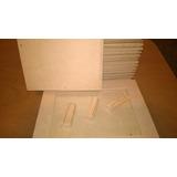 Un Portarretrato De Fibrofacil Para Foto 13 X 18 C/ Vidrio