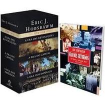 Livros Hobsbawn - Box As Eras 3 Livros + A Era Dos Extremos