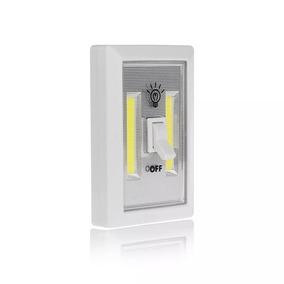 Luminária Interruptor Pilha Imã Multiuso Armarios Corredores