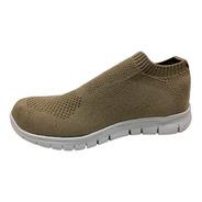 Zapatillas Elastizadas Urbanas Colores Sin Cordones