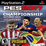 Pes Championship 2017 Ps2 Pro Evolution Outubro 2016 Patch