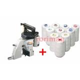 Máquina Para Costura De Sacaria / Boca De Saco + 10 Cones