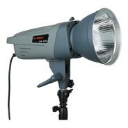 Flash Estudio Visico 300 W C/ Reflector Receptor Incorporado