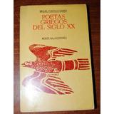 Poetas Griegos Del Siglo Xx - Miguel Castillo Didier