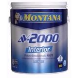 Pinturas Montana Av2000 Interior Blanco Clase A Lavable