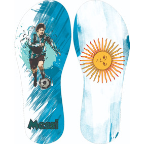 Chinelo Argentina Messi