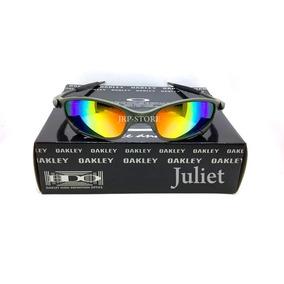38fe32a7c4927 Óculos De Sol Oakley Juliet Com lente polarizada no Mercado Livre Brasil