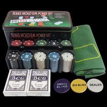 Kit Jogo Poker Texas Hold