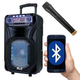 Caixa De Som Amplificada Bluetooth 400w Rms Sd Pendrive Mic