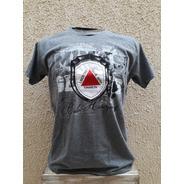 Camiseta Minas 3d... Cor Cinza Grafite Mescla