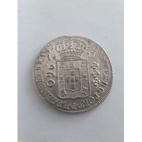 Moeda Antiga, 960 Réis, 1817, Letra Monetária