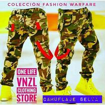 Ropa Pantalones Camuflados Para Niños Jeans Militar