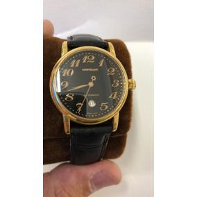 21ae5192bf8 Relogio De Ouro - Relógio Montblanc Masculino no Mercado Livre Brasil