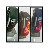 Relógio Pulseira Nike Digital Kit C\20 Unid ( Veja O Video
