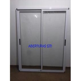 Puerta ventana de aluminio aberturas ventanas de for Ventanas de aluminio doble vidrio argentina