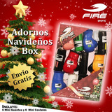 Kit Navideño Fire Sports Guantes Y Costalitos