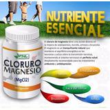 Cloruro De Magnesio,3 Frascos X 15000 90 Cap C/u Envio Grati