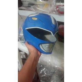 Capacete Power Rangers Azul