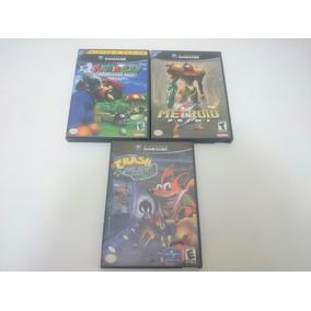 Jogos Game Cube 70 Reais Cada - Mário, Metroid, Crash