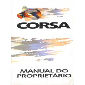 Manual Do Proprietário Gm Corsa 95