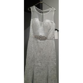 Elegante Vestido De Noche Rue De La Paix En Talla 32